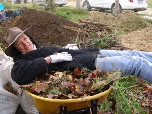 compost day - saide's pic