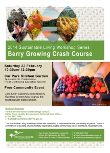 February 2014 - Berry Growing Crash Course Flyer (2)