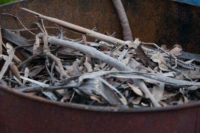 the biochar material