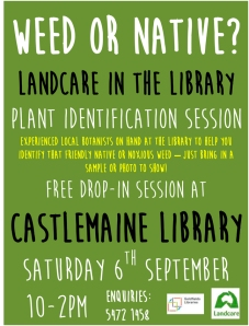 landcare in the library - flyer 2014