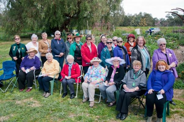CWA at the garden, september 10 2014 - spring fling