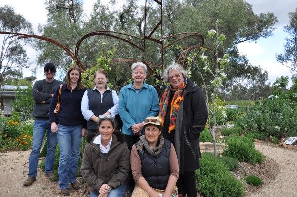Yea Gardening club members