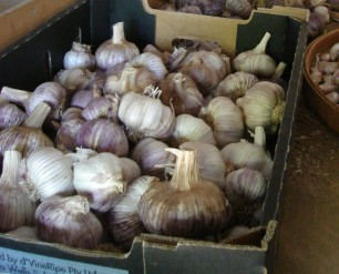 we do have good garlic, too ...
